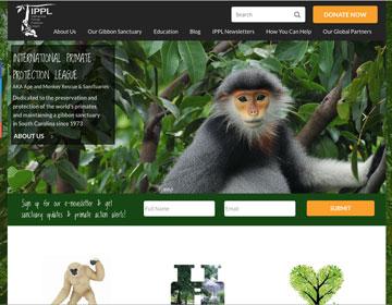 International Primate Protection League Web Site
